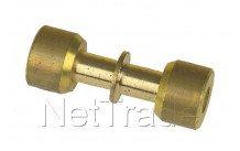 Universeel - Lokring messing koppeling d=5mm  5 nk-ms-00 - NKMS005