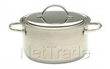Demeyere - Resto kookpot met deksel 22 cm  4 l - 80022
