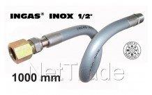 Universeel - Inox ingas 1000mm 1/2