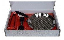 Lagostina - Set la tagliata grill 30cm diam +vleestang+pepermo - 11193930130