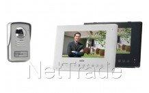 Marmitek - Doorguard 450 - video-deurtelefoon handsfree, lcd, kleur, geheugenfunctie - 08132
