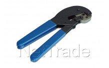 Hirschmann - Krimptang f-connectoren sfc 012 voor pvc6 tri6 koka799 et pe6 - 606301002