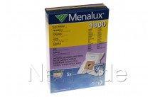 Electrolux - Stofzuigerzak 1900     5 stuks + 1 filter - 9001961276