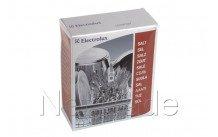 Electrolux - Zout voor vaatwassers 1kg - 9029790590