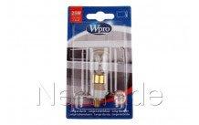 Wpro - Lampje voor magnetron c-base - t25 - 25w (ø23 mm x - 484000000989