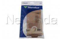 Menalux b50 5 zakken stofzuiger electrolux alfatec crocodilo e17 - 9090102014