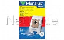 Electrolux - Stofzuigerzak synthetisch s-bag 1800    5 stuks - 9001961375