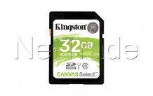 Kingston technology canvas select 32gb sdhc uhs-i klasse 10 flashgeheugen - SDS32GB