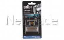 Braun - Combi-pack flex integral - contour - 31s - silver - 4210201072829