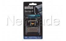 Braun - Combi pack flex integral (505) - serie 3 -31b -zwa - 81387938