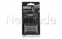 Braun - Combi pack / scheercassette - serie 5 - 52b - zwar - 81384829