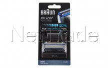 Braun - Combi pack cruzer z - 20s - serie 2000 - silver - 81387934
