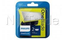 Philips vervangscheerkop oneblade qp220/55 - 2 stuks - QP22055