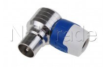 Hirschmann - Koswi 5 male iec connector angled 4g/lte proof - 947544500