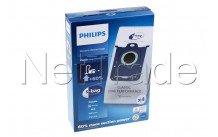 Philips - Stofzuigerzak orig sydney / mobilo classic -  s-bag / 4 stuks - FC802103