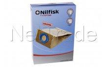 Nilfisk - Stofzuigerzak orig gs80/ gs90 - 82095000
