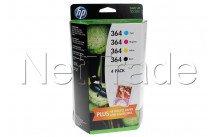 Hewlett packard - Hp sd534ee 364 combo-pack - SD534EE