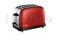 Russell hobbs - Broodrooster colours flame red  long slot - 2139156