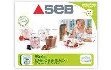 Seb - Yoghurtpotjes - set 6st. - XF100101