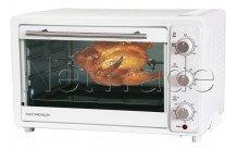 Tecnolux - Mini oven 33l 1600w wit/inox - GT33RC01