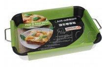 Crealys plat à four en inox 37 x 27 x 6 cm epais - 513158