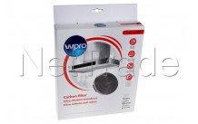 Wpro - Koolstoffilter type 34 - (ø255 x 50 mm) - antibact - 484000008610