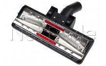 Universeel - Combi zuigmond 32mm met 2 kleine achterwielen 26,5cm breed