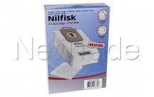 Nilfisk - Stofzuigerzak  select/power/ classic -  verp. 4 st - 107407639