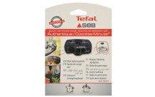Seb tefal calor moulinex - Stc knop zwart  authentique/cocotte min - 790071