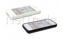 Spez - Etui de protection - couverture  - iphone 4 / iphone 4s-  2-pack: noir & blanc - 22235