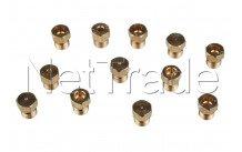 Ariston - Kit injecteurs gn+butane+gas pl sabaf - C00114463
