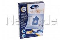 Wpro - Aka - 4 sacs + 1 filtre moteur ea52-mw - 481281718613