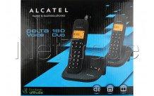 Alcatel - Delta 180 duo noir avec repondeur integre - DELTA180VOICEDUO