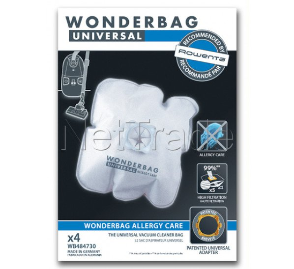 Seb tefal calor moulinex sac wonderbag endura*4 WB484730
