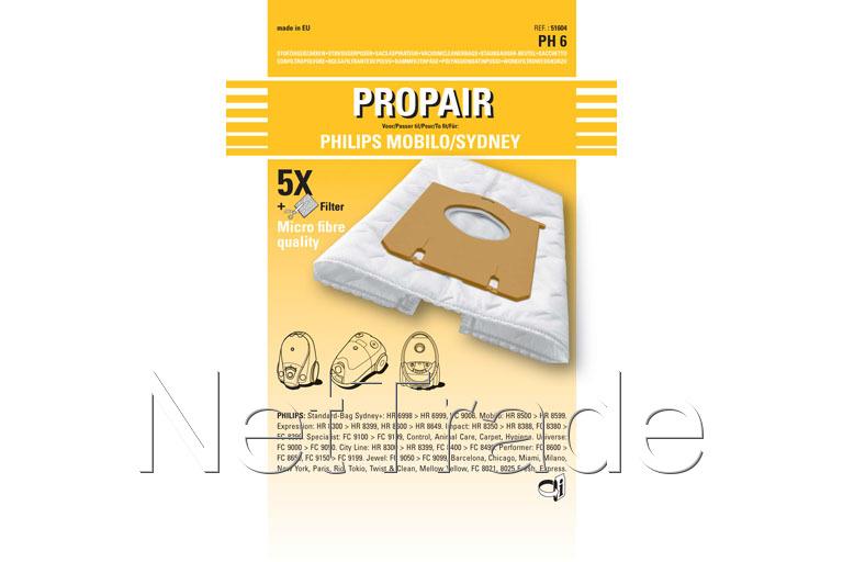 Philips stofzuiger onderdelen bestellen
