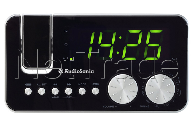 audiosonic clock radio instructions