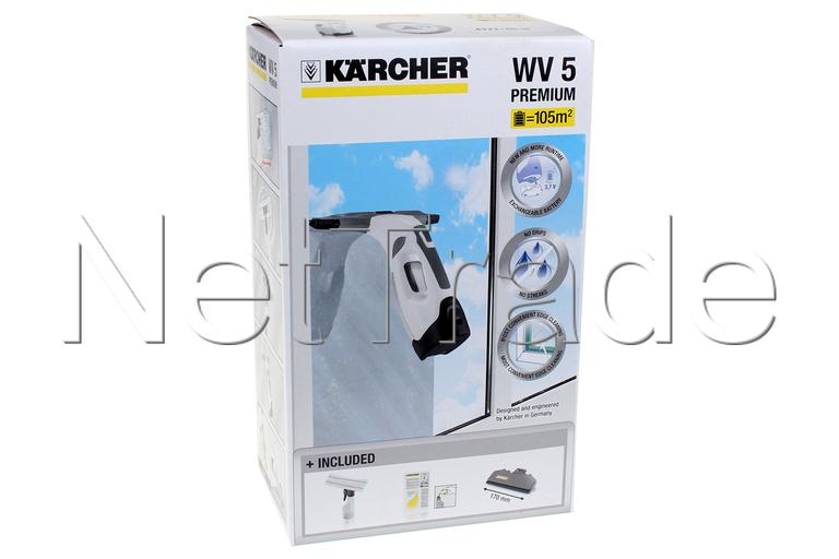 karcher window washer wv 5 premium plus white 16334550. Black Bedroom Furniture Sets. Home Design Ideas